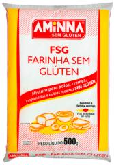 Farinha sem Glúten 500g - Aminna