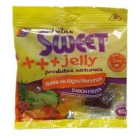 Balas de algas marinhas sabor fruta - Sweet Jelly