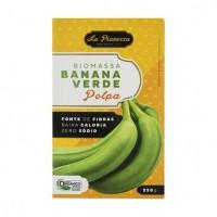 Biomassa de banana verde polpa 250g - La Pianezza