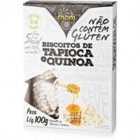 Biscoito de Tapioca e Quinoa 100g - Fhom