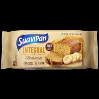 Bolo integral zero açúcar banana 250g - Suavipan