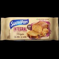 Bolo integral zero açúcar Nozes 250g - Suavipan
