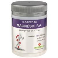 Cloreto de Magnésio - 500mg 120 Cápsulas - Meissen