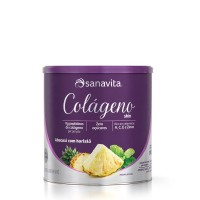Colágeno skin Abacaxi com hortelã - Sanavita 300g