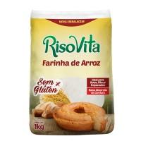 Farinha de arroz branca 1kg - RisoVita