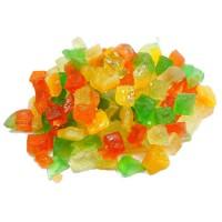 Frutas Cristalizadas  (100 Gramas)