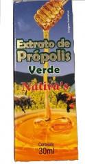EXTRATO DE PRÓPOLIS VERDE 30ML - NATIVA'S