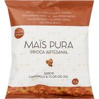Pipoca Caramelo e Flor de Sal 75g - Mais Pura