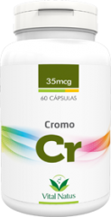 Cromo 35mcg 60 cápsulas - Vital Natus