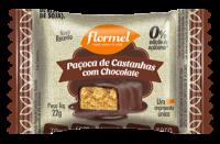 Paçoca de Castanha de Caju com Chocolate - Flormel